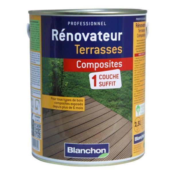Rénovateur terrasses composites 2,5L - Blanchon